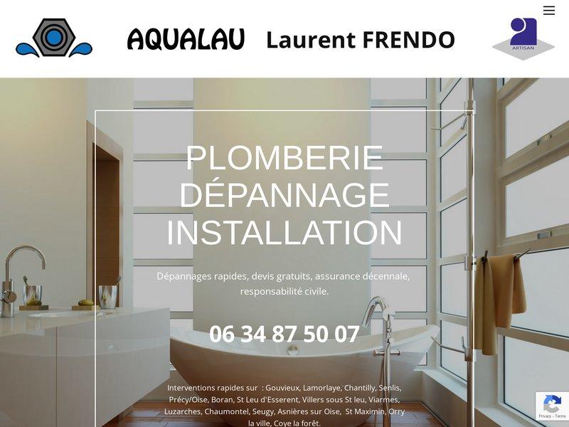 AQUALAU Laurent Frendo Plomberie  dépannage installation traitement de l eau .2 chemin les pommiers 60270  Gouvieux (Oise). 0634875007 AQUALAU Laurent Frendo chantilly AQUALAU Lamorlaye