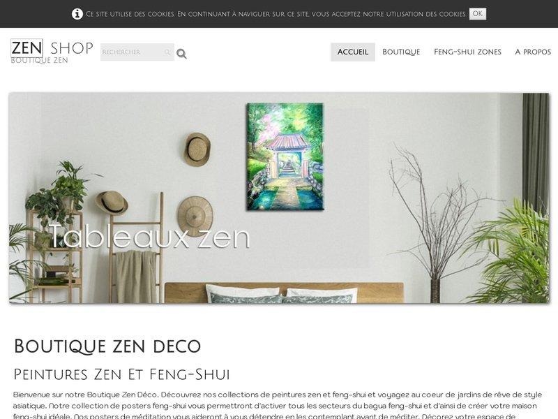Déco feng-shui et zen, Tableaux feng-shui, Tableaux zen, boutique mobile  Feng-shui zen deco, feng-shui and zen paintings, dream paintings