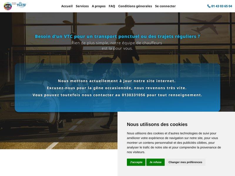 Avec des tarifs jusqu'à 50% moins cher qu'un taxi, ATA propose des services de navettes et transport de personnes alternatifs au taxi vers l'aéroport Paris Roissy CDG, Orly, Beauvais