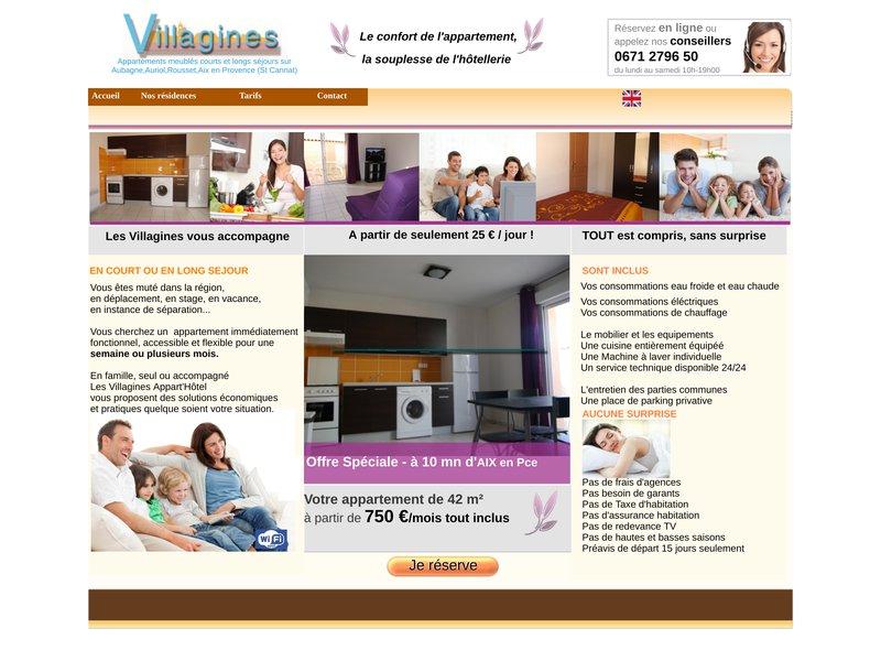 Appartement meublé sur Aubagne - Les Villagines