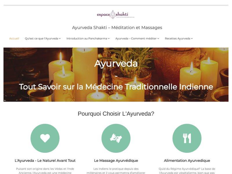 Formations massages ayurvédiques des indes