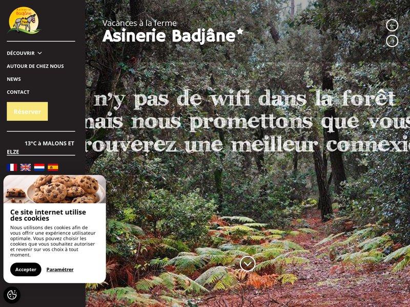 Séjours Insolites en Cévennes Balades et Randonnées avec un âne de bât