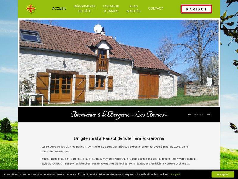Location Gîte rural Tarn et Garonne 2 chambres