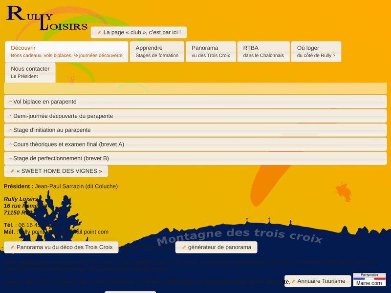 Bourgogne parapente