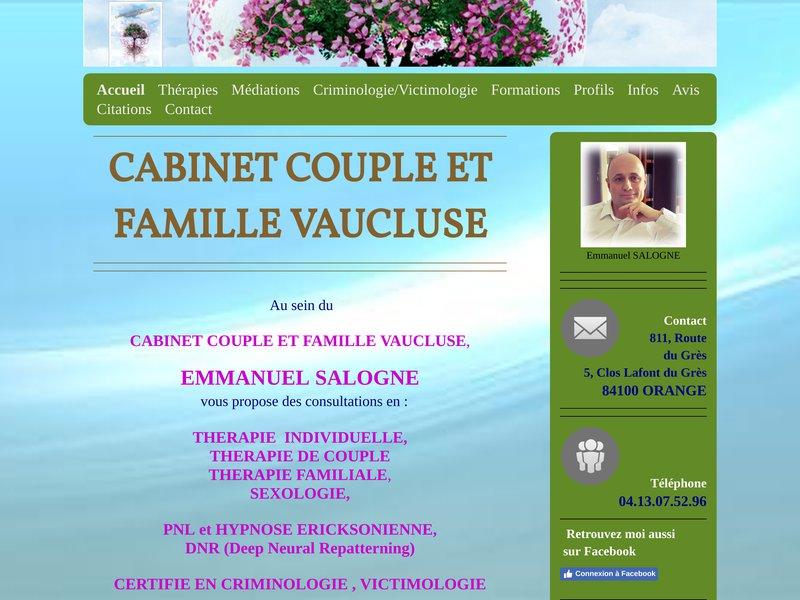 Cabinet couple et famille vaucluse