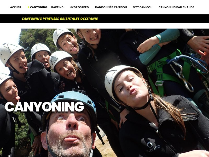 Canyoning en Occitanie
