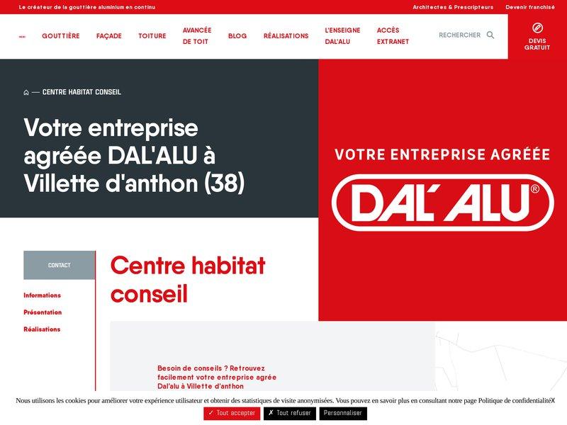 Dal alu Lyon - dal alu  Centre Habitat Conseil