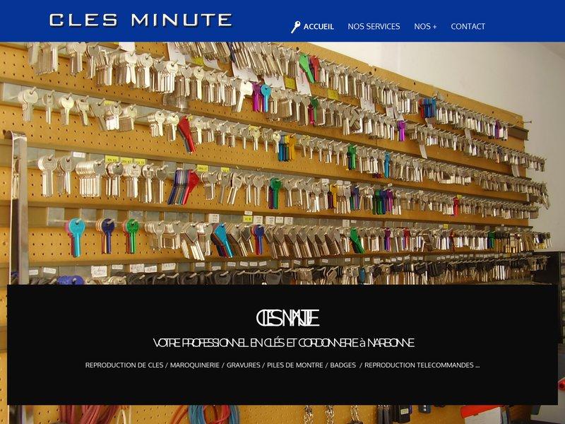 CLES MINUTE à Narbonne
