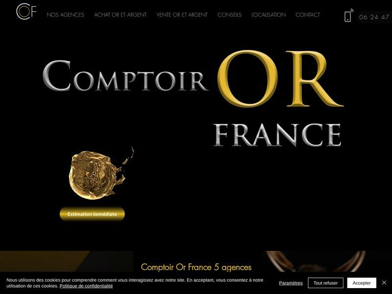 Comptoir Or France - Achat OR Mont de Marsan, Dax, Tarbes, Landes, Hautes Pyrénées, Rachat Or à Domicile Lot et Garonne, Gers, Pyrénées Atlantiques, Haute Garonne