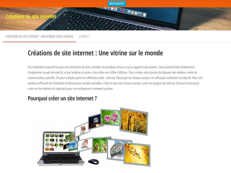 Creation de Site Internet 60