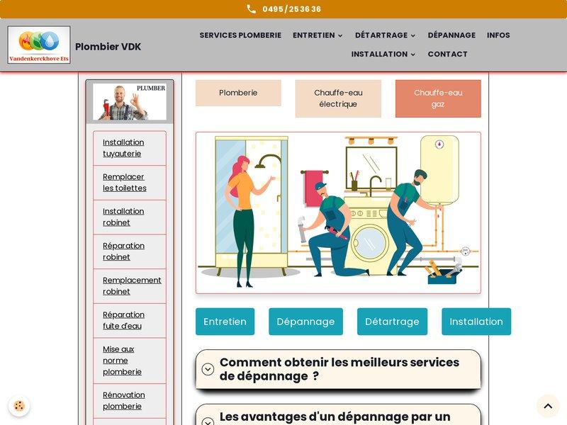 Remplacement Plomberie Ixelles