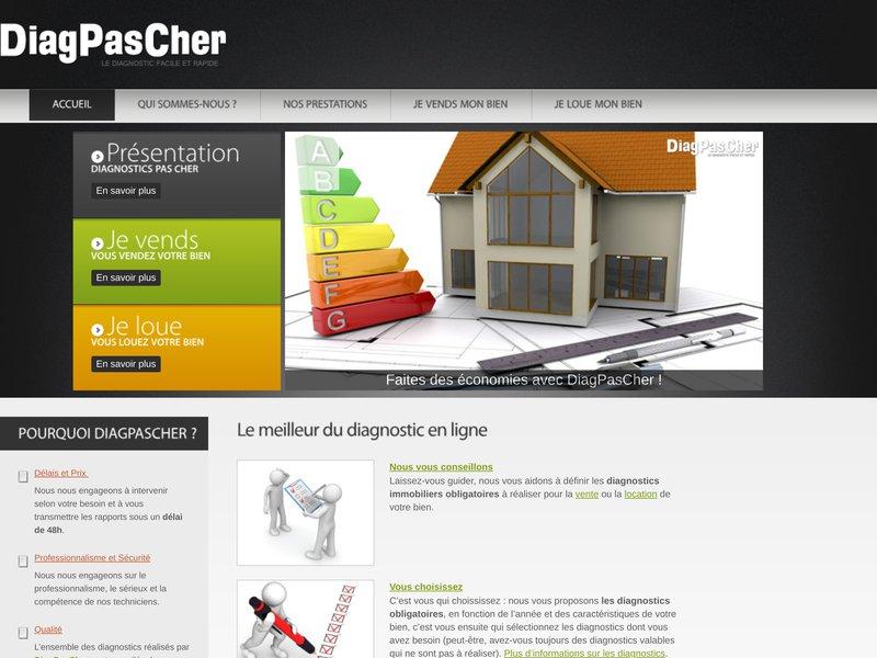 Diagnostics Immobiliers pas cher - devis gratuit - commandez en ligne et prenez rdv
