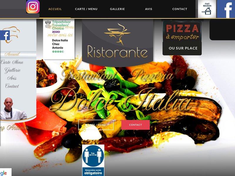 Restaurant Pizzeria Dolce Italia à Narbonne