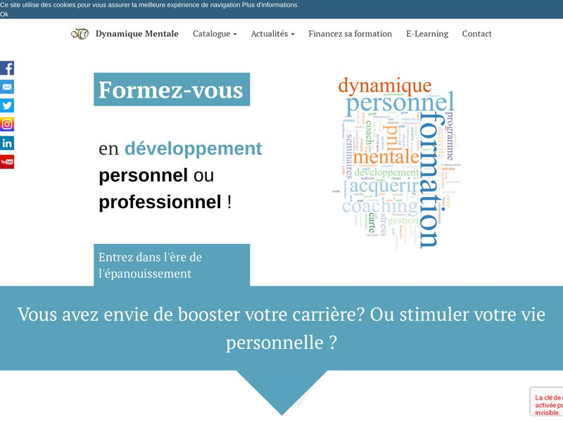 JCD Formation est un centre situé en Vendée dédié à la dynamique mentale.