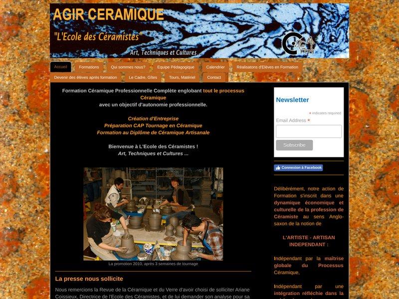 L'Ecole des Céramistes: Formation Professionnelle Diplômante - Stages Céramique.