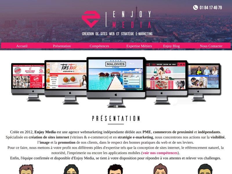 Enjoy-Media : Agence Web Global