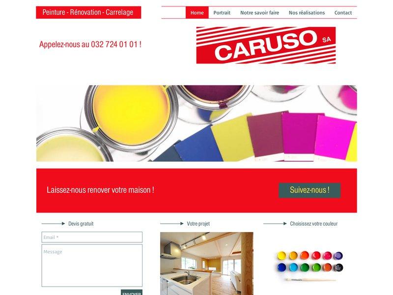 F. Caruso SA, Peinture - Rénovation - Carrelage - plâtrerie