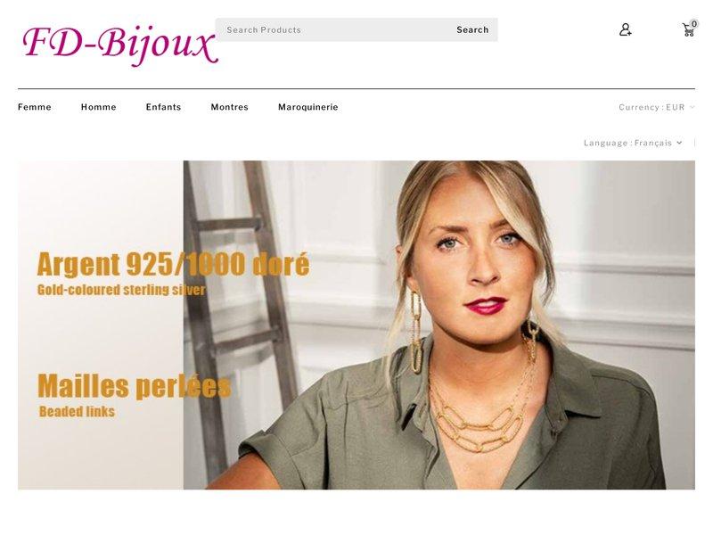 FD Bijoux, votre spécialiste bijoux et montres en ligne