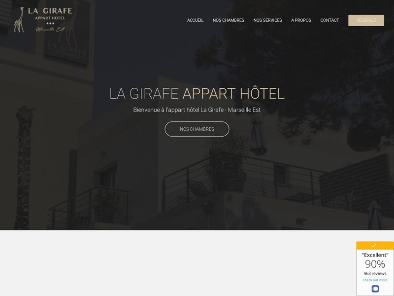 Appart Hotel La Girafe Marseille Est