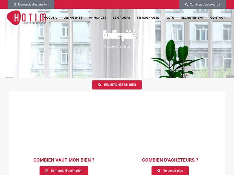 HOTIM Réseau d'Agent Mandataire Immobilier Indépendant - 100 % gratuit - Commission jusqu'à 96 %