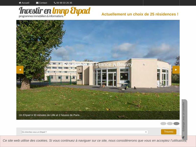 Un large choix de résidences pour investir en lmnp ehpad
