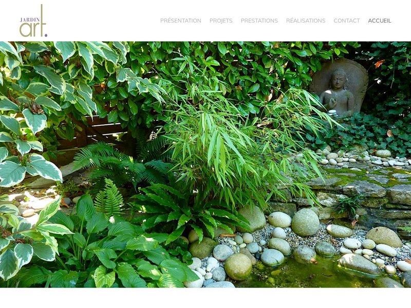 Entreprise d'aménagement et création de jardins. Etudes et plans de plantations