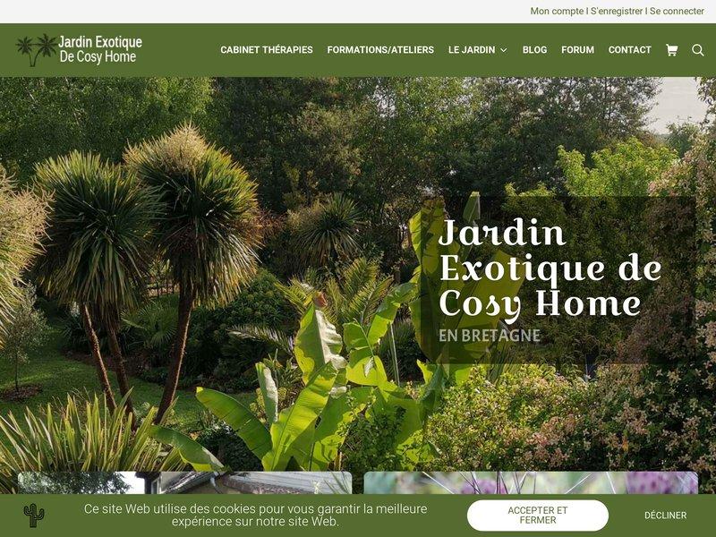 Jardin Exotique de Cosy Home - Rennes/Melesse (35)