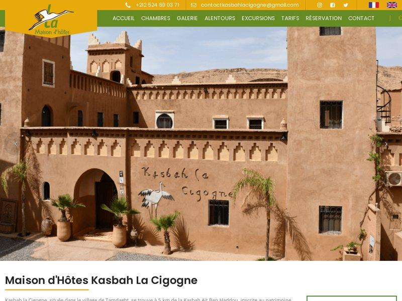 Maison d hotes kasbah la cigogne