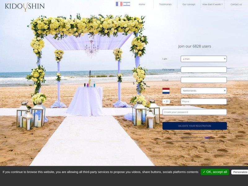Kidushin : Le 1er site de chidouh en ligne Trouvez votre chidouh sur mesure trouver son mazal  La 1ère plateforme internationale francophone de chidouch en ligne