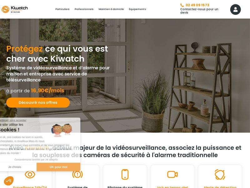 Votre offre de vidéosurveillance sans fil Sécurisez votre domicile et votre entreprise avec une offre complète de vidéosurveillance par internet