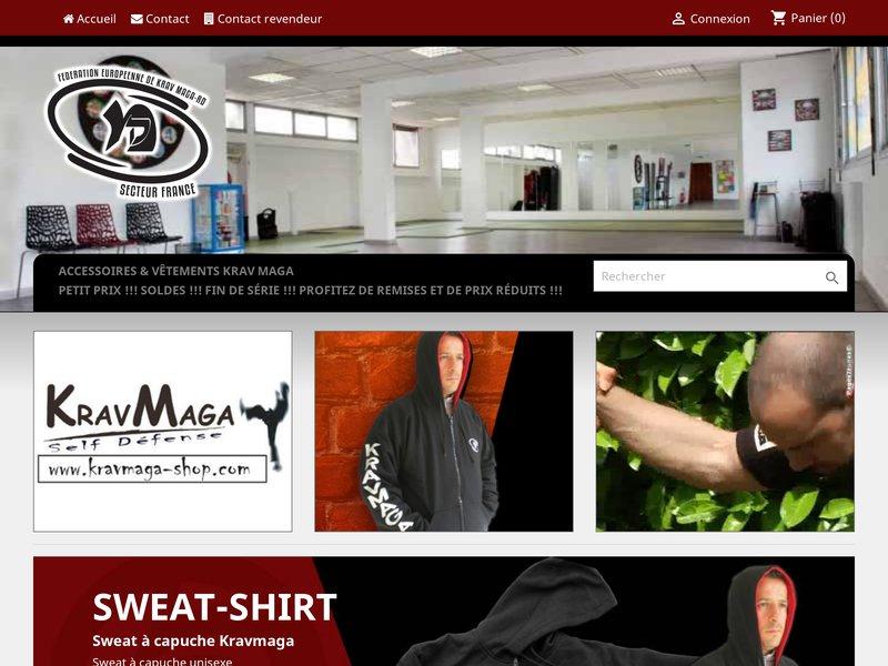 Kravmaga-shop.com , votre boutique du kravmaga