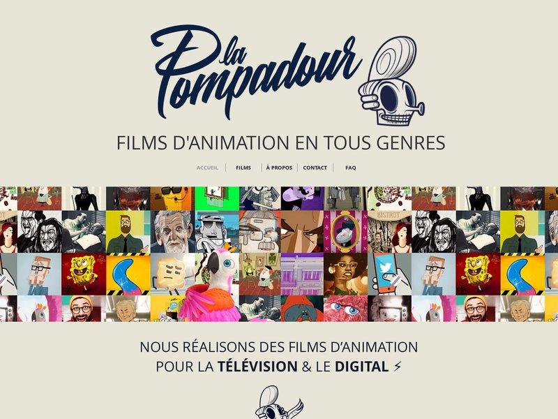 La Pompadour - films d'animation
