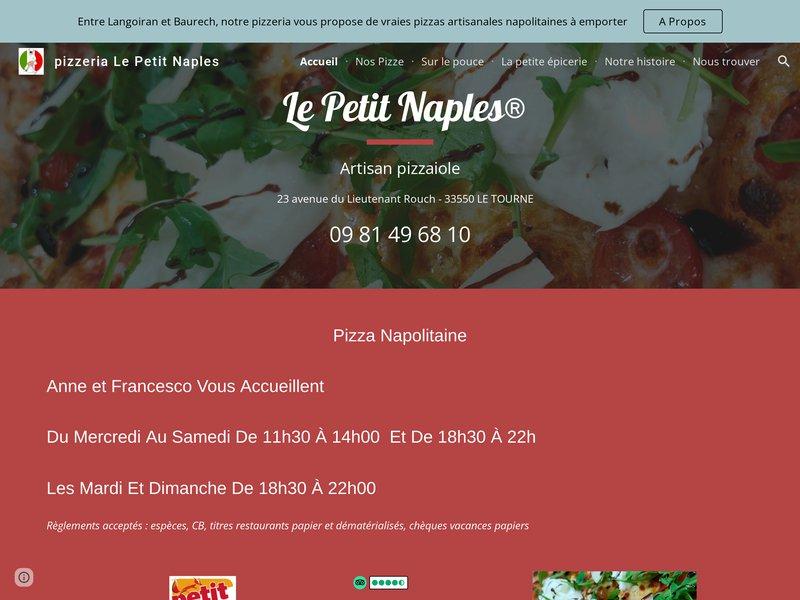 Restaurant italien pizzeria napolitaine