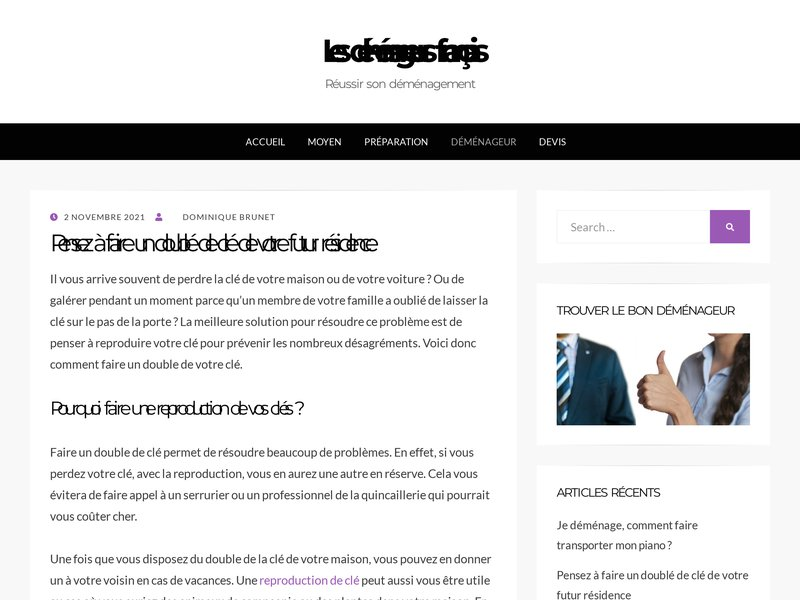 Les-demenageurs-francais.com : le meilleur allié pour obtenir un devis demenagement gratuit fiable