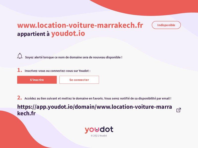 Location de voiture marrakech aeroport