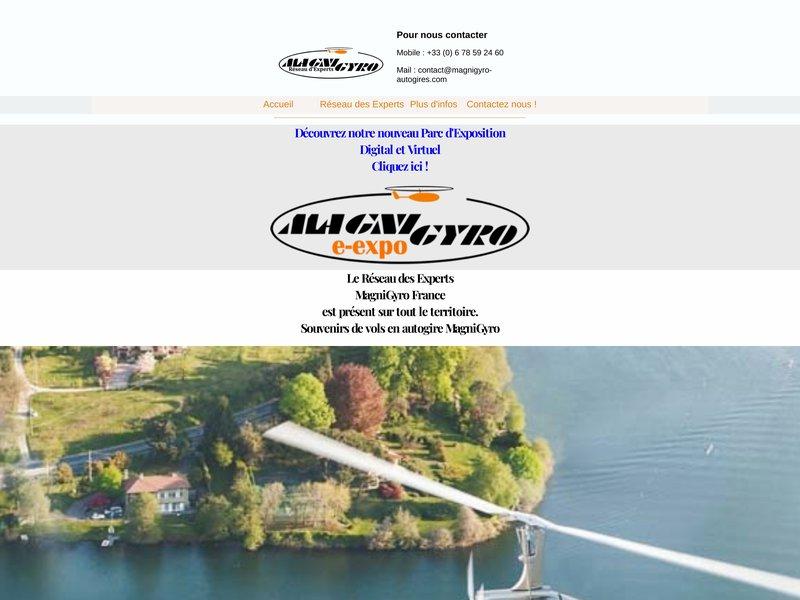 MagniGyro autogires autogyres ULM pour loisirs professionnels travail aerien baptemes formation ecole de pilotage et formation d'instructeurs maintenance neuf et occasion