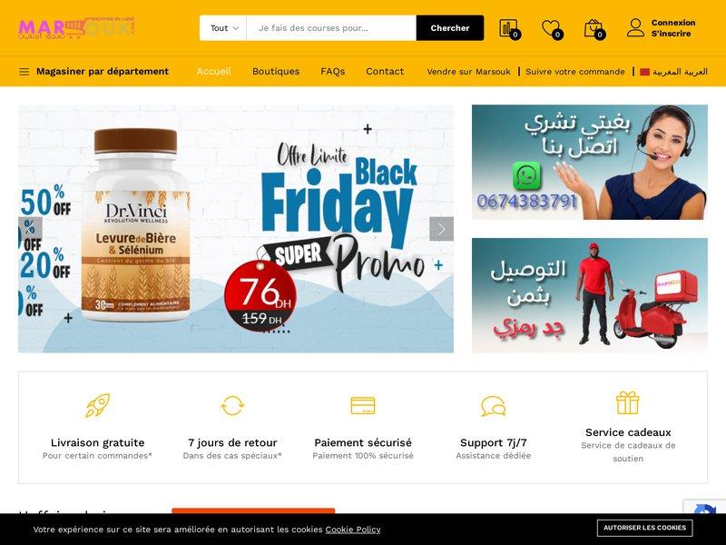 Shopping en ligne: Produits Bio, Téléphone, Informatique | MARSOUK