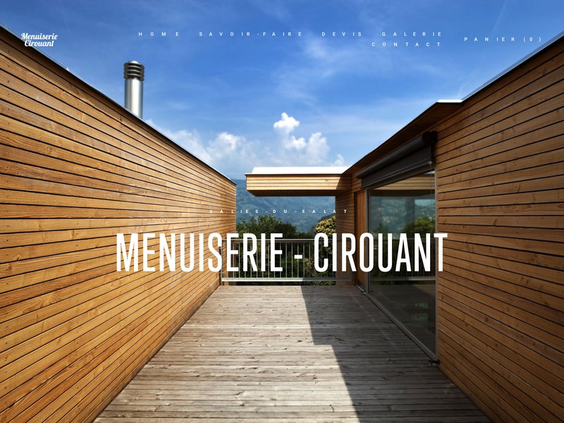 Menuiserie Cirouant