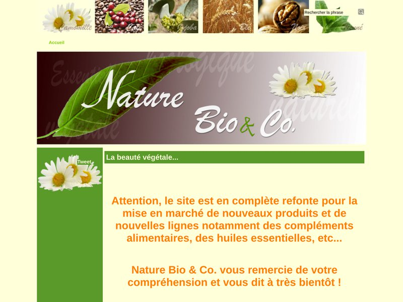 Nature Bio & Co, La beauté végétale