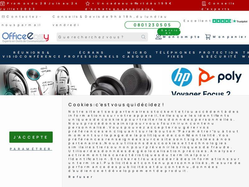 Office Easy : Telephone fixe et sans-fil - telephonie et produits high-tech a prix professionnels