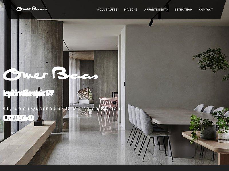 Agence immobilière de Marcq en Baroeul, expert immobilier spécialisé dans achat, vente, location sur Lille, la Madeleine, Mouvaux, Bondues