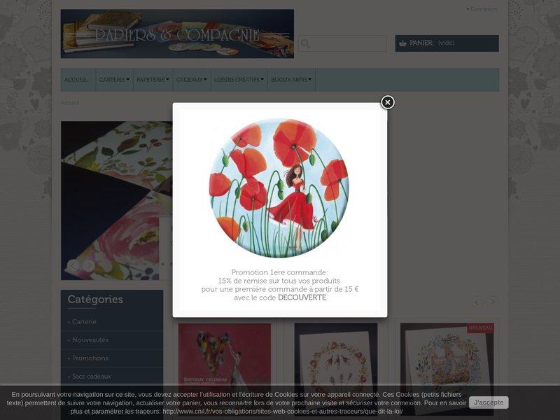 Boutique en ligne spécialisée en Carterie, Cartes d'art, Carterie d'art, Papeterie, et cadeaux artisanaux