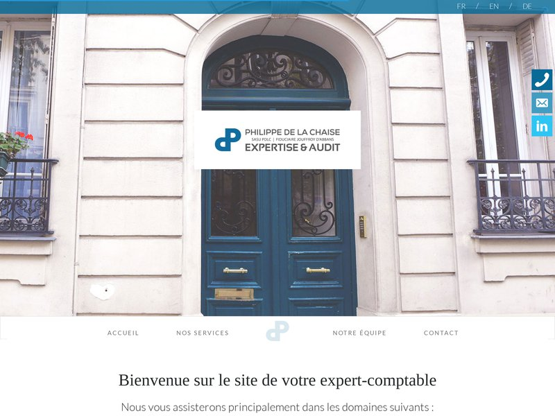 PDLC Philippe de la Chaise Expert Comptable Paris