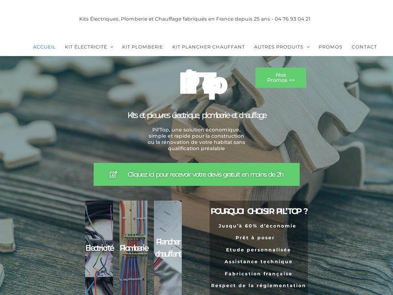 Pieuvre Electrique, Kit Electricité, Chauffage, Plomberie