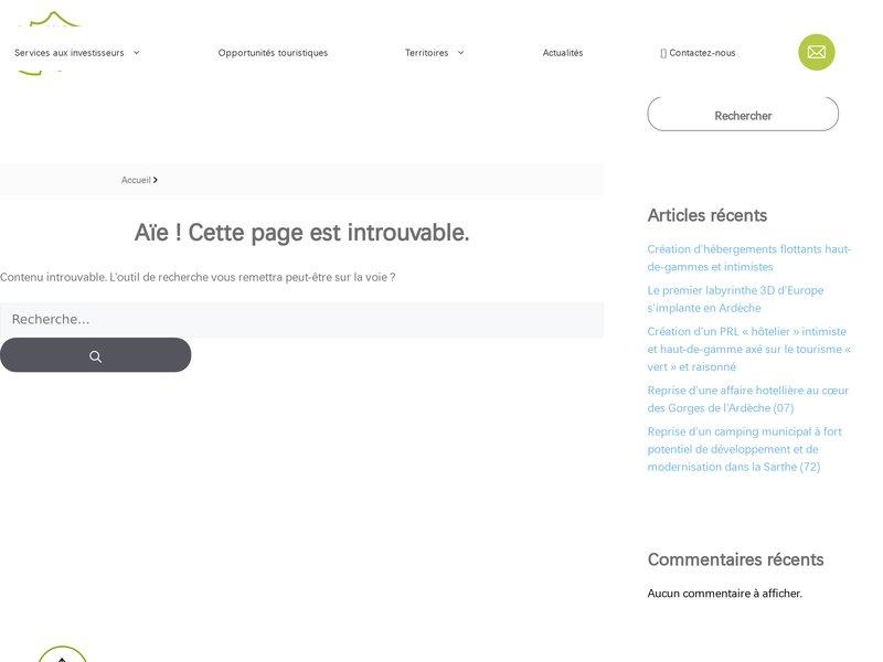 Ariège Pôle Implantation Tourisme