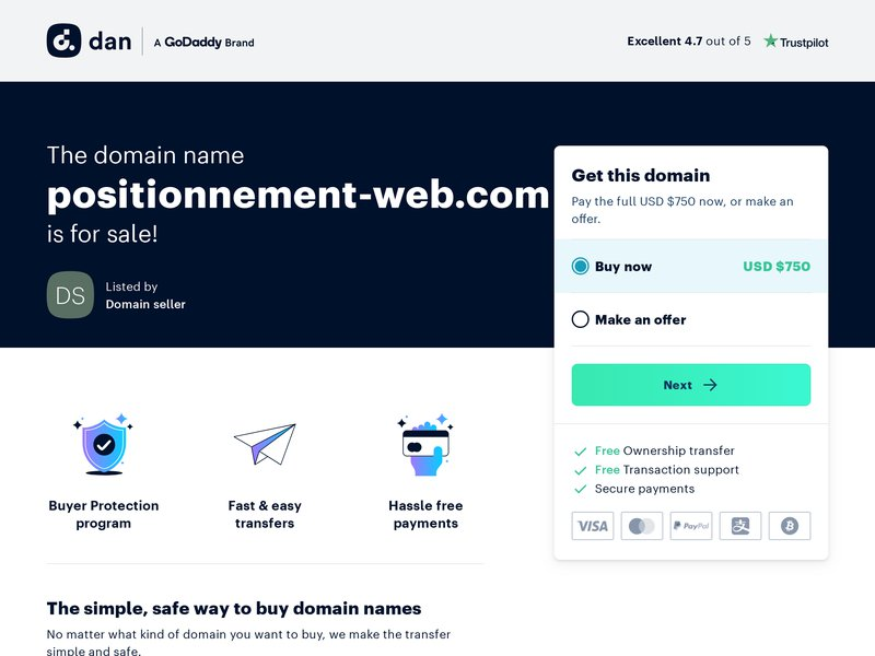 Positionnement-Web.com : referencement professionnel et positionnement de site web