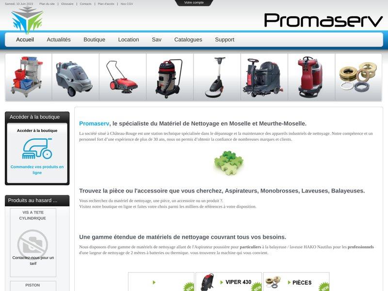 PROMASERV.FR : Produits, matériel d'hygiène