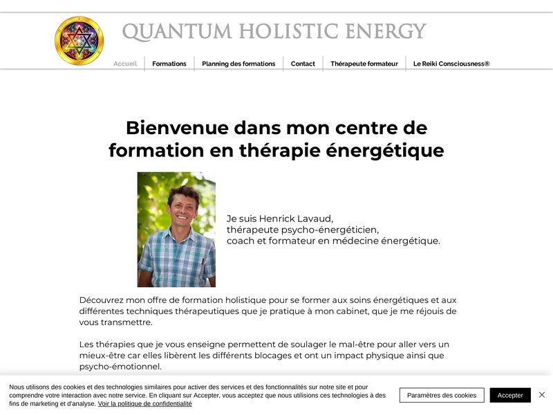 Centre de formation en Lithothérapie & Médecine énergétique, Reiki Consciousness