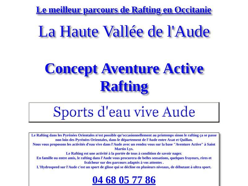 Le Rafting en Occitanie - Aude et Pyrénées Orientales