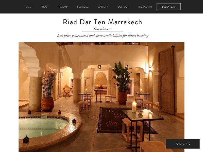 Riad Dar Ten Marrakech